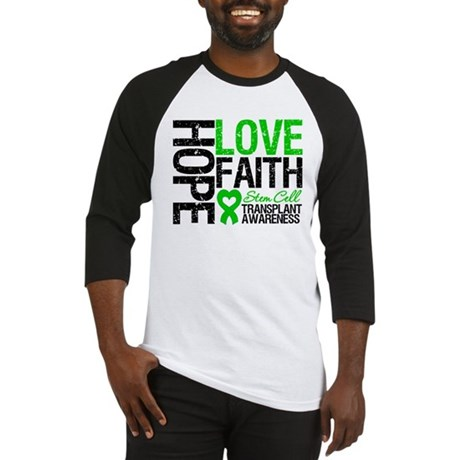 SCT Hope Love Faith Baseball Jersey