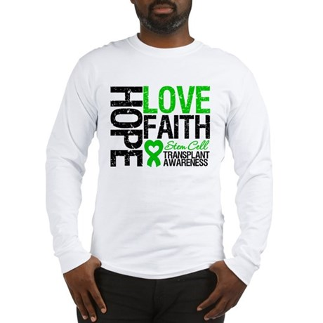 SCT Hope Love Faith Long Sleeve T-Shirt