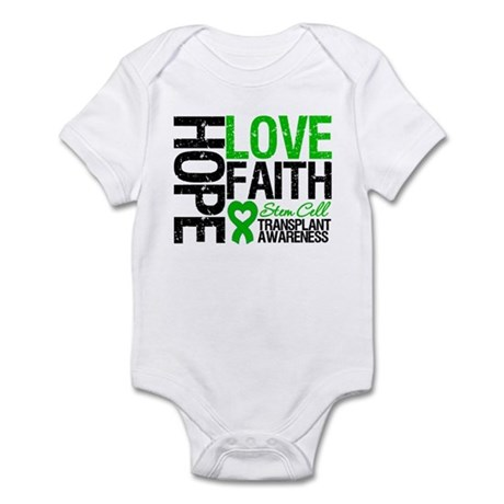 SCT Hope Love Faith Infant Bodysuit