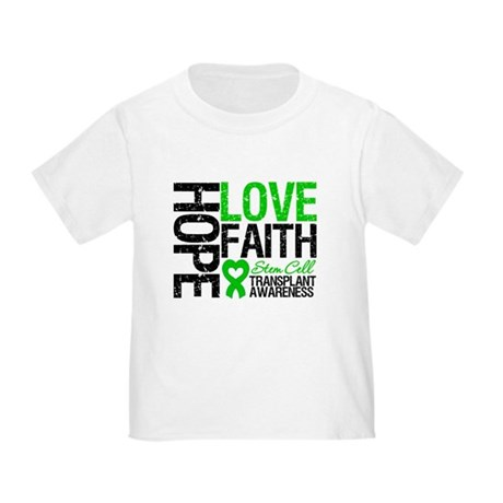 SCT Hope Love Faith Toddler T-Shirt
