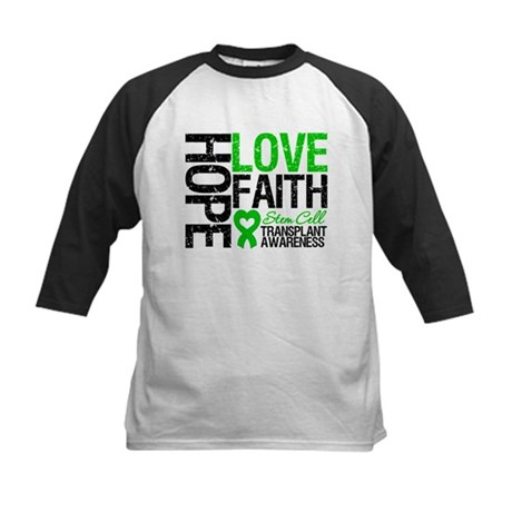 SCT Hope Love Faith Kids Baseball Jersey