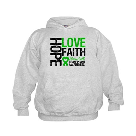 SCT Hope Love Faith Kids Hoodie