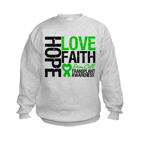 SCT Hope Love Faith Kids Sweatshirt