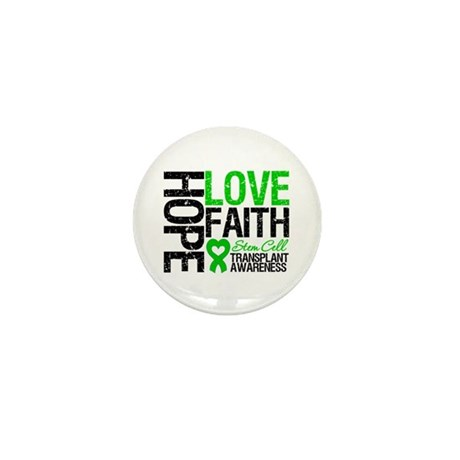 SCT Hope Love Faith Mini Button