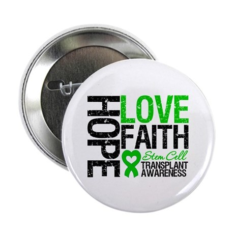"SCT Hope Love Faith 2.25"" Button"