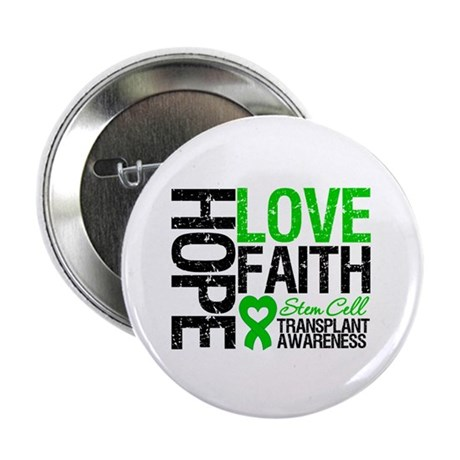 "SCT Hope Love Faith 2.25"" Button (100 pack)"