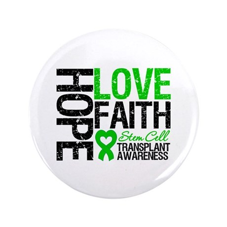"SCT Hope Love Faith 3.5"" Button (100 pack)"