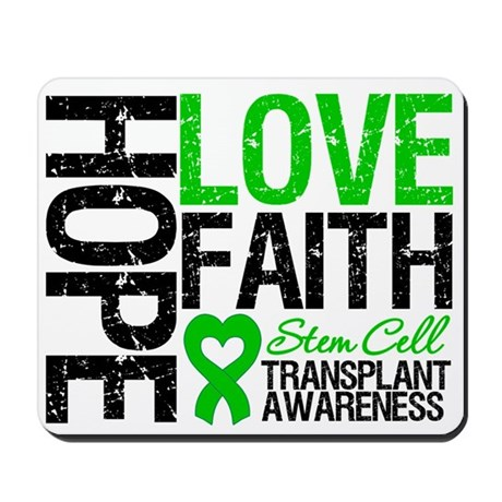 SCT Hope Love Faith Mousepad