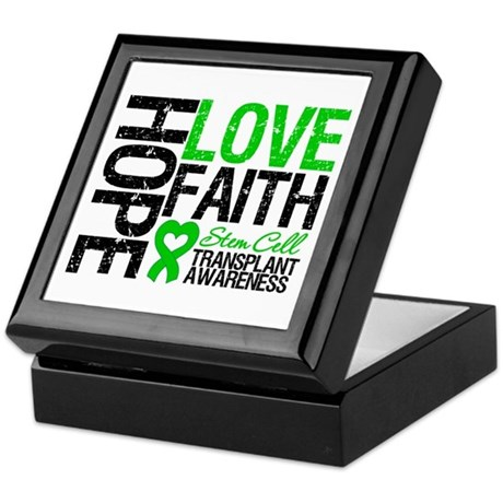 SCT Hope Love Faith Keepsake Box