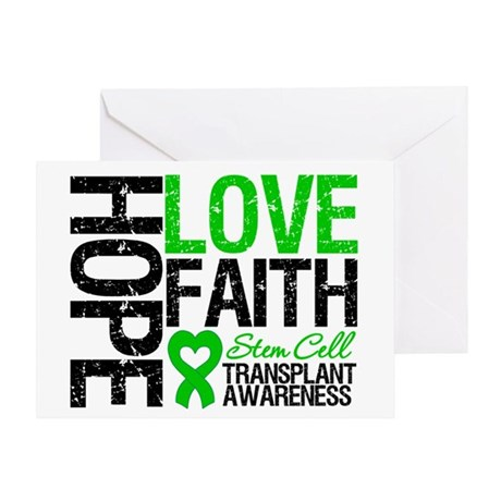 SCT Hope Love Faith Greeting Card