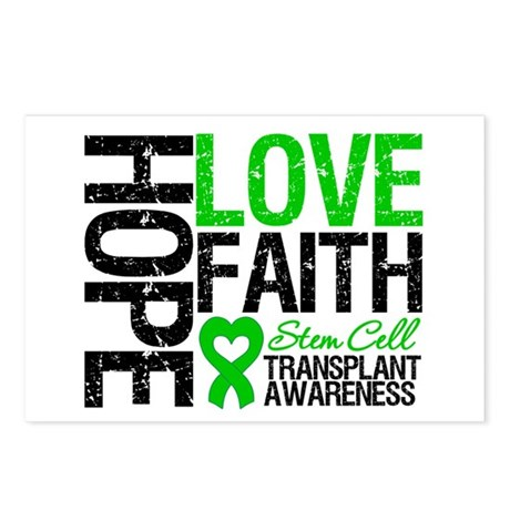 SCT Hope Love Faith Postcards (Package of 8)