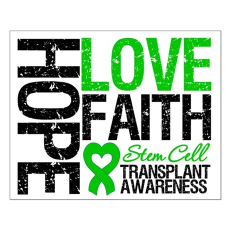SCT Hope Love Faith Small Poster