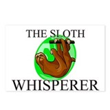 The Sloth Whisperer Postcards (Package of 8)