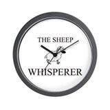 The Sheep Whisperer Wall Clock