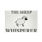 The Sheep Whisperer Rectangle Magnet (10 pack)