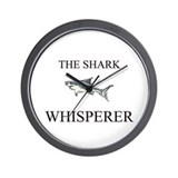The Shark Whisperer Wall Clock
