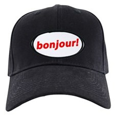 bonjour! French Baseball Hat