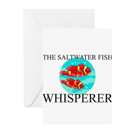 The Saltwater Fish Whisperer Greeting Cards (Pk of