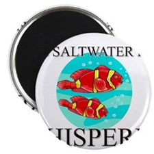 The Saltwater Fish Whisperer Magnet