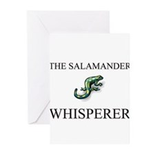 The Salamander Whisperer Greeting Cards (Pk of 10)