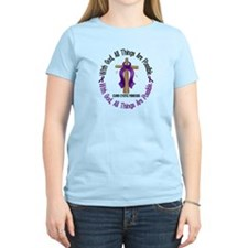 With God Cross Cystic Fibrosis T-Shirt