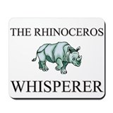 The Rhinoceros Whisperer Mousepad