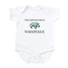The Rhinoceros Whisperer Infant Bodysuit