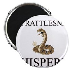 The Rattlesnake Whisperer Magnet