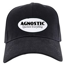 Agnostic Question Everything Baseball Hat
