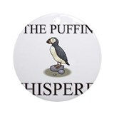 The Puffin Whisperer Ornament (Round)