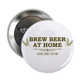 "Brew at Home 2.25"" Button"