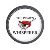The Prawn Whisperer Wall Clock