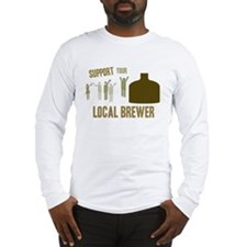 Support Your Local Brewer Long Sleeve T-Shirt