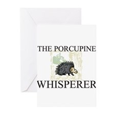 The Porcupine Whisperer Greeting Cards (Pk of 10)
