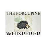 The Porcupine Whisperer Rectangle Magnet (10 pack)