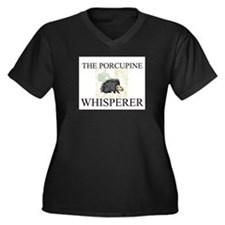 The Porcupine Whisperer Women's Plus Size V-Neck D
