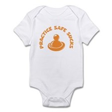 Practice Safe Sucks Infant Bodysuit