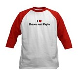 I Love Shawn and Kayla Tee