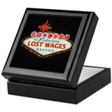 LOST WAGES Keepsake Box