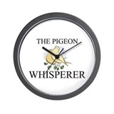 The Pigeon Whisperer Wall Clock