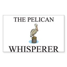 The Pelican Whisperer Rectangle Sticker