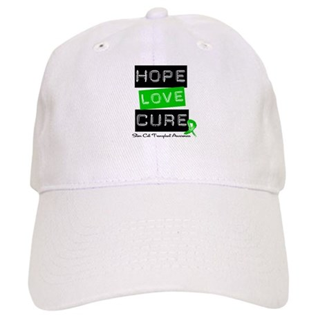 SCT Survivor Heart Ribbon Cap