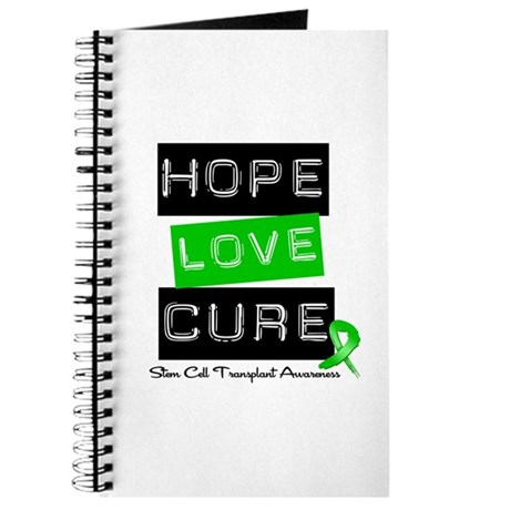 SCT Survivor Heart Ribbon Journal