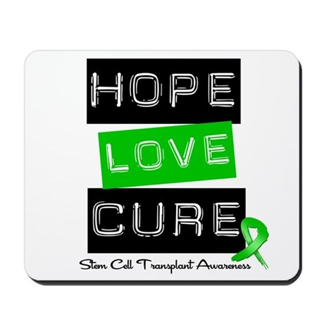 SCT Survivor Heart Ribbon Mousepad