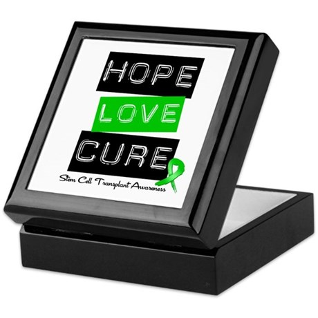 SCT Survivor Heart Ribbon Keepsake Box