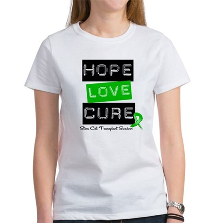 SCTSurvivor HopeLoveCure Women's T-Shirt