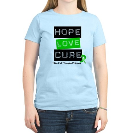 SCTSurvivor HopeLoveCure Women's Light T-Shirt
