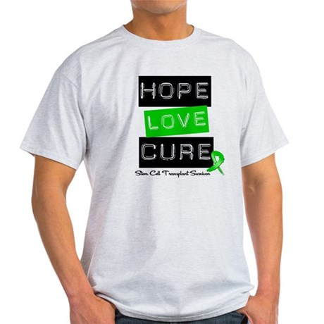 SCTSurvivor HopeLoveCure Light T-Shirt
