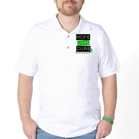 SCTSurvivor HopeLoveCure Golf Shirt