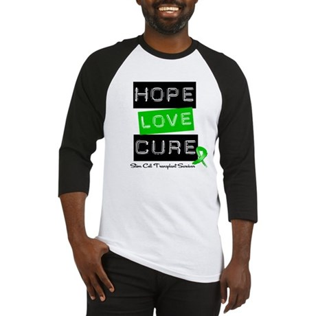 SCTSurvivor HopeLoveCure Baseball Jersey